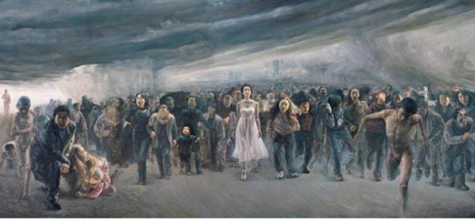 震撼《通向众冥的自由之路》史诗般警世巨作