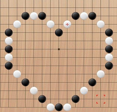 最搞怪的五子棋棋盘图片
