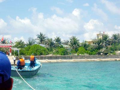 小越非法侵占我大汉南沙群岛—鸿庥岛 - 汉子 - 汉子的博客