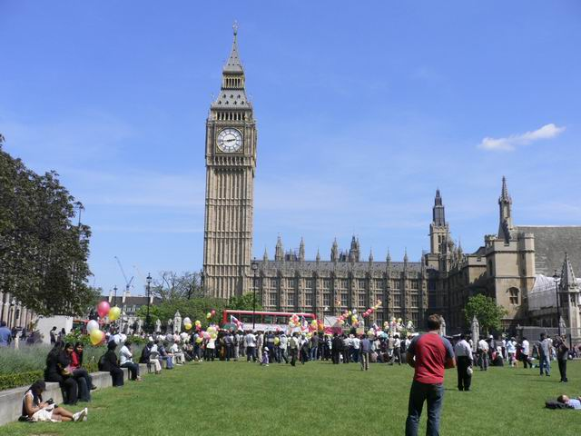 伦敦游记之寻找大本钟 - 蔡骏 - 蔡骏的博客