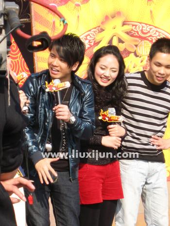 广东卫视530对对碰节目录制 - 惜小君 - Sara的地盘呀!