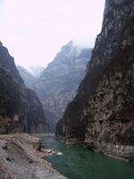 大渡河大峡谷 - 拥抱明月 - 拥抱明月博客