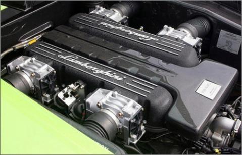 兰博基尼为了在性能上压倒法拉利enzo跑车,发动机排量比法高清图片