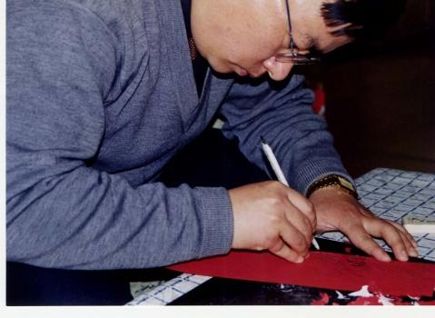 刘罡奥运题材剪纸荣获全国剪纸大赛金奖 - 剪纸刘罡 - 剪纸刘罡的博客