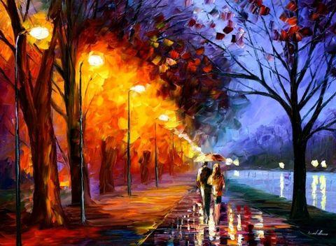 雨雾中的绚烂 - 玫瑰小手 - 陶然亭