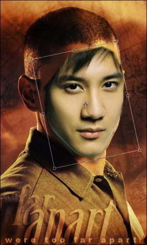 Photoshop照片合成:明星换脸 - 晓风无痕 - 博客美化代码网