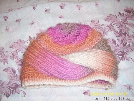 转一顶很好看的帽子的编织方法 - 轻舞飞扬 - 轻舞飞扬 ^_^  快乐、多愁善感的世界