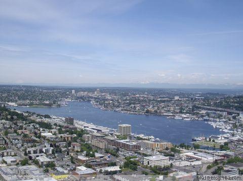 到西雅图观光(15):登高望远看全景 - 阳光月光 - 阳光月光