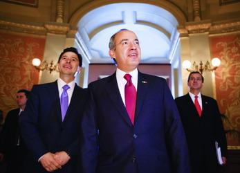 对话墨西哥总统费利佩.卡尔德隆 - 外滩画报 - 外滩画报 的博客