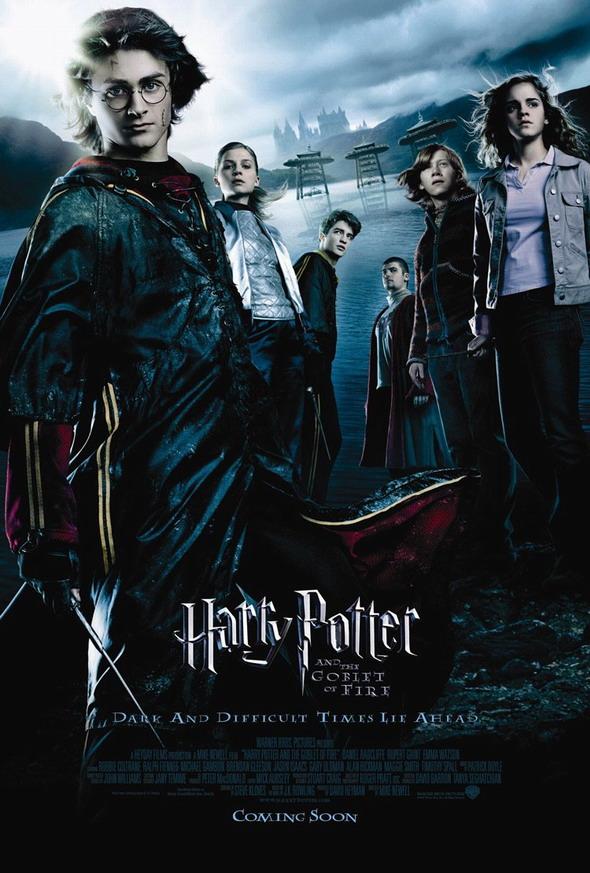 资料:《哈利-波特与火焰杯》海报(1)