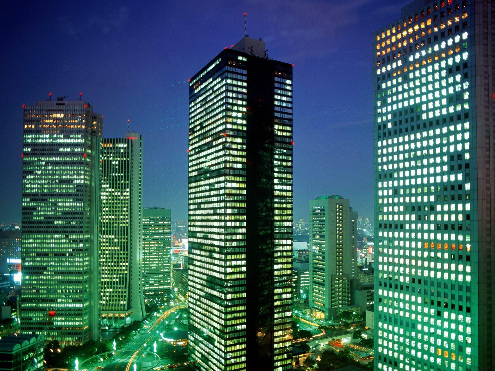 美丽的城市夜景 - 清影 - 清影摇风