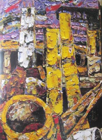 在色彩中亢奋 - 应歧的油画风景 - 应歧的油画风景