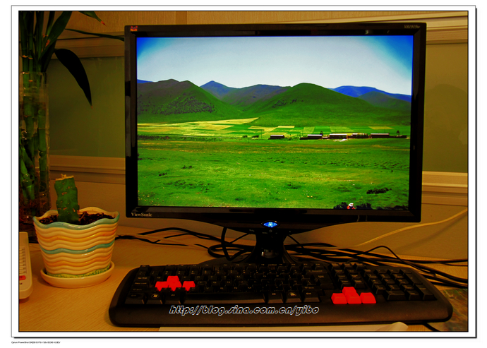 一波的5年.办公桌_行走在西部的草原_新浪博客 - 行走在西部的草原 - 行走在西部的草原