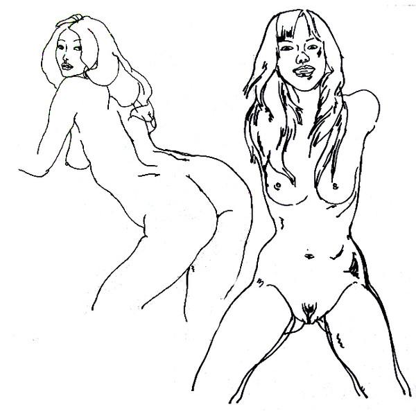【转载】长年人体画(一) - 大朴山房 - 大朴山房
