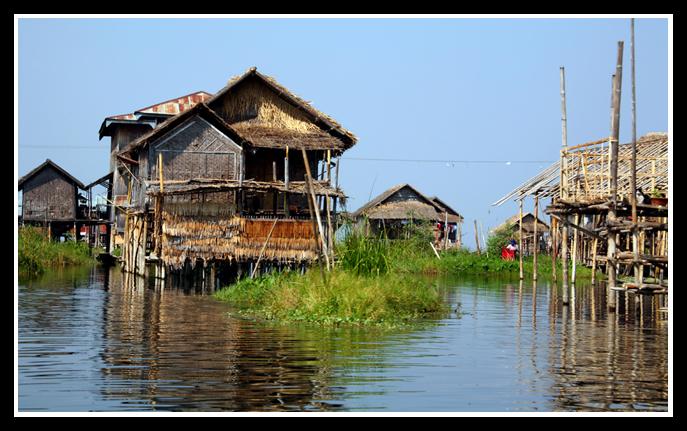 茵莱湖(2)——水上人家 - 人走茶凉 - 人走茶凉的博客