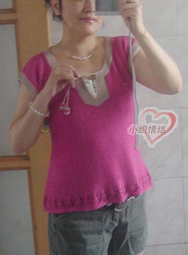 小织的低调奢华 ——亮玫夏衫(带图解) - 我心依旧 - 我心依旧的博客