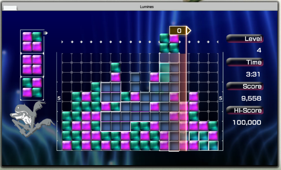 pc版的音乐方块Lumines - deo.R - Rs