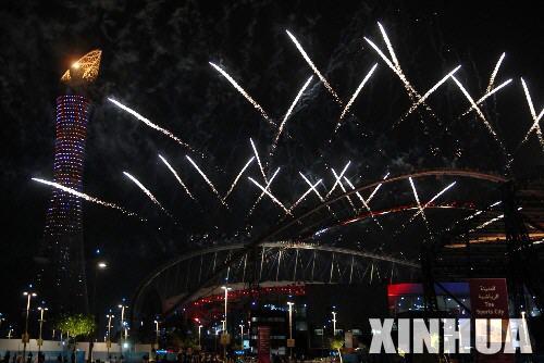 展望北京2008奥运,回顾多哈2006-6  烟花璀璨2 - 梦里秦淮 - 周宁(梦里秦淮)的博客