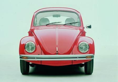 德国大众甲壳虫汽车的发展历史高清图片