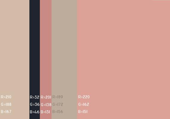 【引用】最舒服的颜色搭配值 - yqnn的日志 - 网易博客 - 翩翩戏蝶 - 翩翩戏蝶的情结
