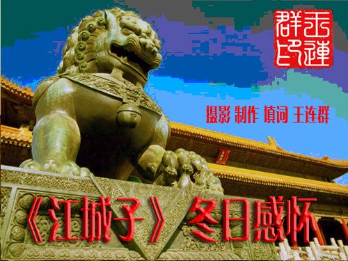《江城子》 冬日感怀 - 今生有你 - wlq19580 的博客