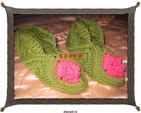 漂亮地毯鞋-编织纺 - 029guoguo - 美味红烧肉的博客