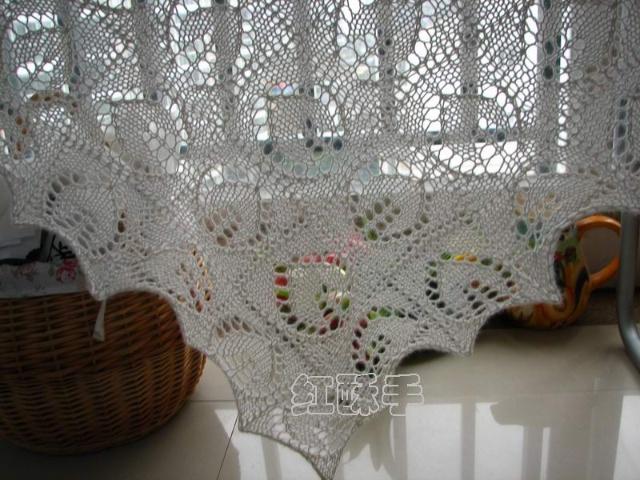 落叶披肩(钻石请进,上图解和结构图)-红酥手*编织-搜狐博客 - 柔纱 - 纤指柔纱 的博客