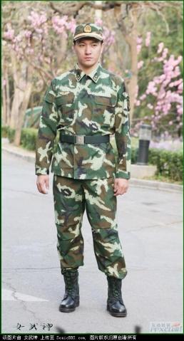 解放军07式军服 解放军军服史上最漂亮的军服 图片图片