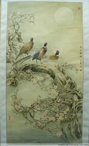 内蒙古自治区第四届国画展(花鸟部分)作品欣赏 - 西山行旅 - 西山行旅