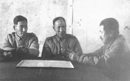 内战中起义的国军将领(部分)