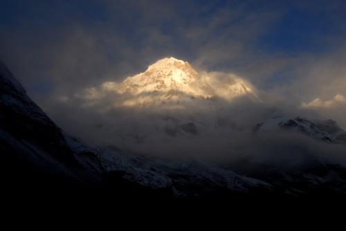 告别ABC营地《重返尼泊尔之十三》 - Y哥。尘缘 - 心的漂泊-Y哥37国行
