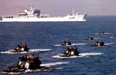 (原创)中国海军气垫登陆艇及两栖装甲战车! - 亮★艦! - Sea Quiver