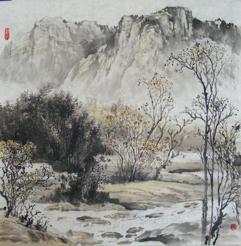 山水情新作 - 云石斋主 - 山水画家张怀勇(云石斋主)的博客