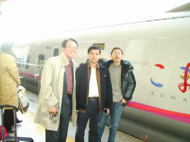 跟佐佐木去秋田,他的诗碑,在秋田文学馆演讲 - 杨克 - 杨克博客