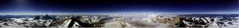 转载珠穆朗玛峰顶360度环视照的十大理由 - 天王星 -           .