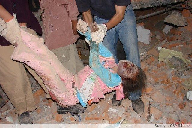 地震中连CCTV都不敢播出的图 - 紫薇星 - fengzan1973 的博客