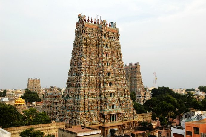 南印度圣城马杜赖最壮丽的神庙 - Y哥。尘缘 - 心的漂泊-Y哥37国行