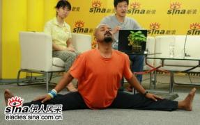 印度瑜伽大师披露神秘瑜伽 - 大鹏 - 爱熊说——健身达人VS时尚先生