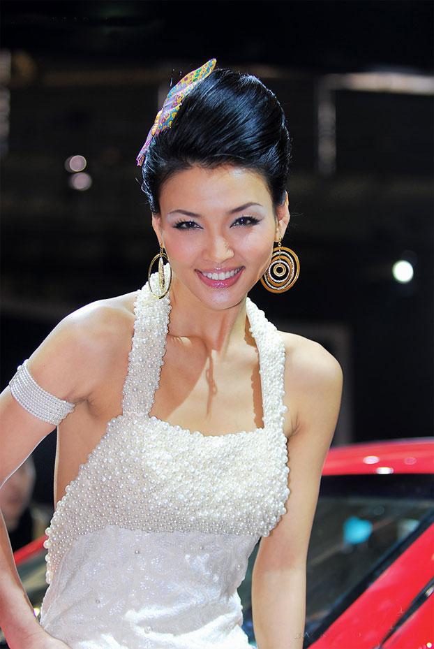 上海国际车展美女车模精选 - 红叶风萧萧  - 红叶风萧萧