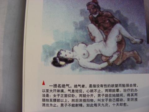 房中术十三图谱图_古代帝王的房中术之男女那点事