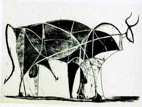 牛年到,看毕加索画牛 tiantia7419 意思林的博客高清图片
