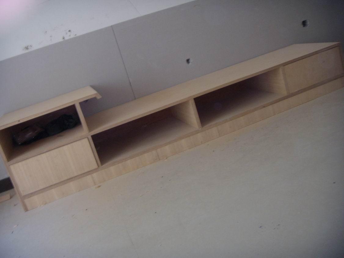 木工做电视柜效果图_免漆板做电视柜图片
