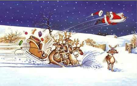 圣诞快乐(幽默 图) - 笨熊 - 创意俱乐部