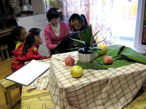 童画童心08秋季高级班美术活动8——静物写生 - 童画-童心儿童美术 - 童画-童心儿童美术