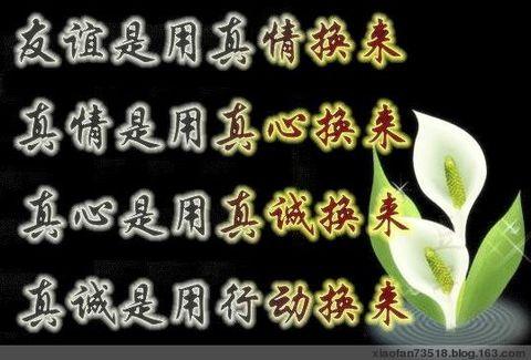 [原]真情如此默契 - 潇潇 - 潇 潇 烟 雨 楼