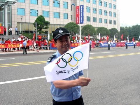 奥运圣火,点燃激情 - 听雨 - 听雨的博客