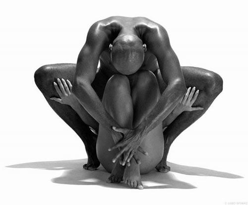 相互缠绕裸体美--组图 - 蘭 - .