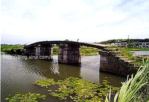 绍兴古桥:绍兴县富盛镇古桥遗存仅2座(转) - 河山 - 河 山 de boke