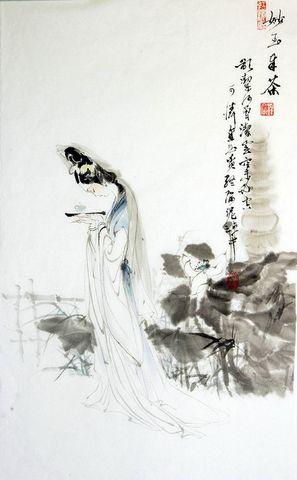 清骨神韵——《红楼女子图》 - 闲云野鹤 - 闲云野鹤的博客