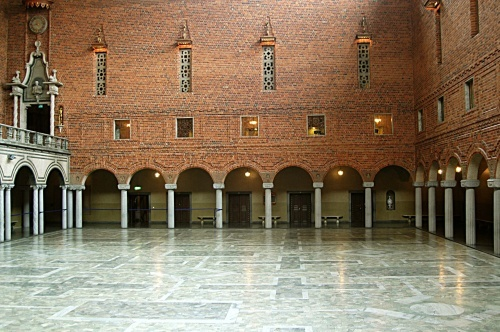 参观斯德哥尔摩市政大楼 - 西樱 - 走马观景